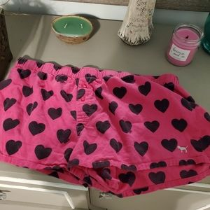 Night short from pink